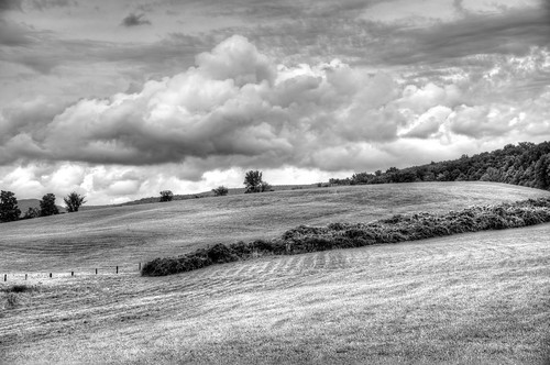 sky blackandwhite storm clouds adams farm massachusetts hill meadow newengland dramatic land berkshires farms agriculture hillside brae drama agricultural cultivated berkshirecounty landscapepasture ayrhillfarm