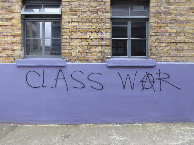Class War graffiti, Shoreditch