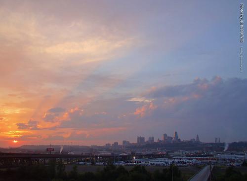 morning skyline sunrise september kansascity kc kcmo 2015 september2015
