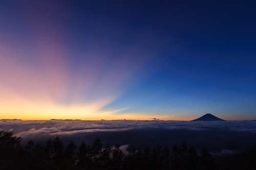 japan sunrise dawn fuji mt 日本 fujisan 富士山 mtfuji yamanashi 日の出 夜明け 山梨県 nirasaki 韮崎市 甘利山
