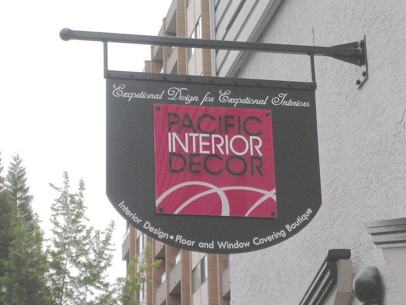 Pacific Interior Decor  panel and projecting