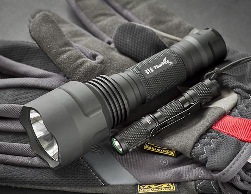 Thorfire C8 & Lumintop AAA Tool
