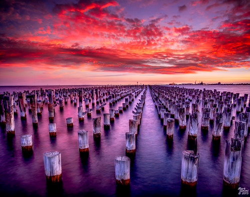 Princes Pier Sunset | by mark.iommi