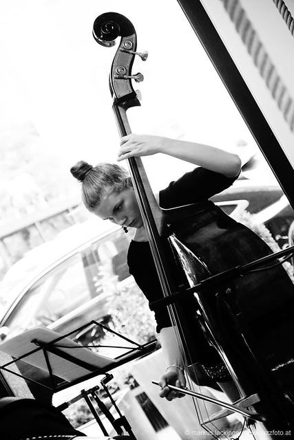 Camilla Pillinger: bass