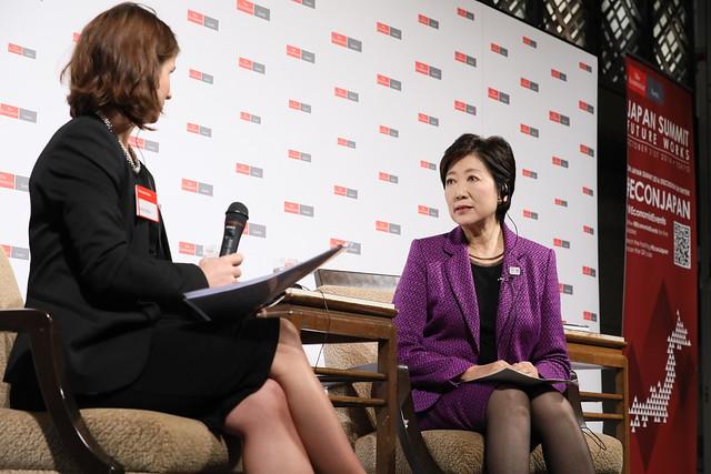 Yuriko Koike, governor, Tokyo Metropolitan Government