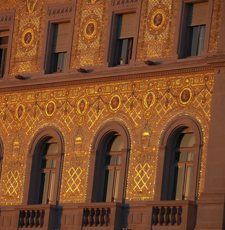Trieste - Where Beautiful Architecture Can Sometimes Turn into Gold!