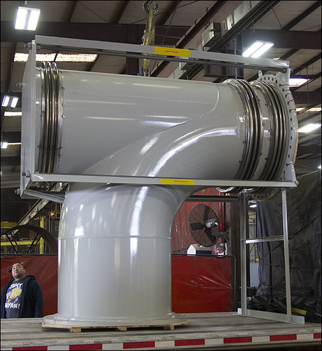 Elbow Pressure Balanced Expansion Joint for a Power Plant in California