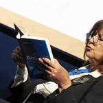 Ghada Karmi | Ghada Karmi discusses her moving memoir about belonging and exile at the Book Festival © Helen Jones