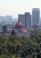 Chapultepec, Vista desde el castillo