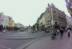 Wenceslas Square, Praha
