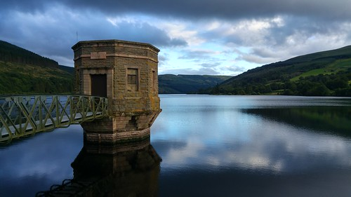 Valve tower at Talybont Reservoir | by pluralzed