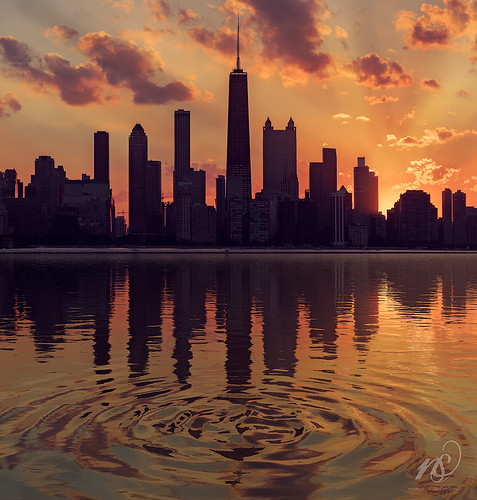 urban sonyalpha fun 2016 lake summer waterwaves clouds hiden naturallight nenadspasojevic cityscape nenadspasojevicart golden shadows sun arcanum waterripple dusk urbanexploration deepshadows sundown silhouette water sunset chi orange dayfornight waves blue ripple mystique circles light chicago illinois il usa wow
