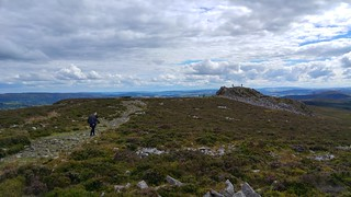 View along the Stiperstones Ridge towards Cranberry Rock | by pluralzed