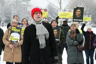 Demonstrasjon for Raif Badawi