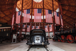 Roundhouse, B&O Train Museum | by Chris Ubik