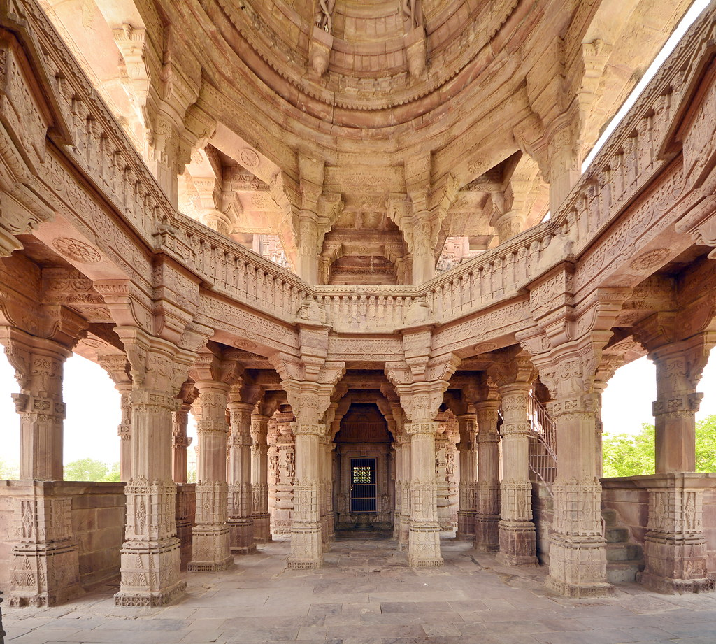 India - Rajasthan - Mandore - Mandore Gardens - Royal Ceno