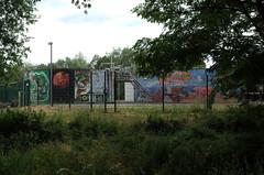 cool graffiti on water reservoirs