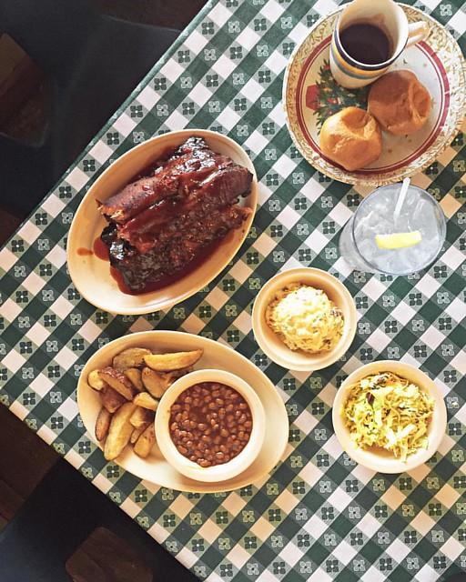 The ribs at Leatha's Bar-B-Que Inn - Hattiesburg, Mississippi.