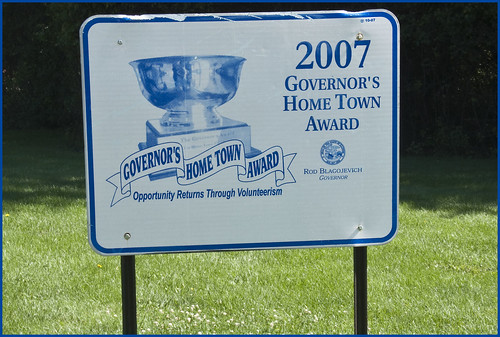 'Governor's Home Town Award' -- Citizens Park Barrington (IL) September 2015 | by Ron Cogswell