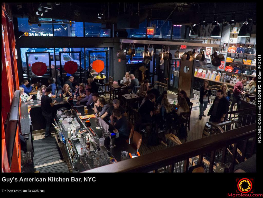 Guy S American Kitchen Bar Nyc Un Bon Resto Sur La 44th R Flickr