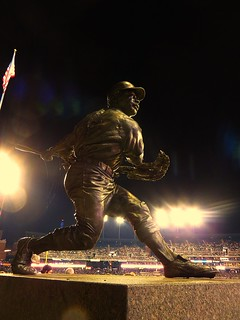Willie Horton Monument, Comerica Park, Detroit, Michigan | by Ken Lund