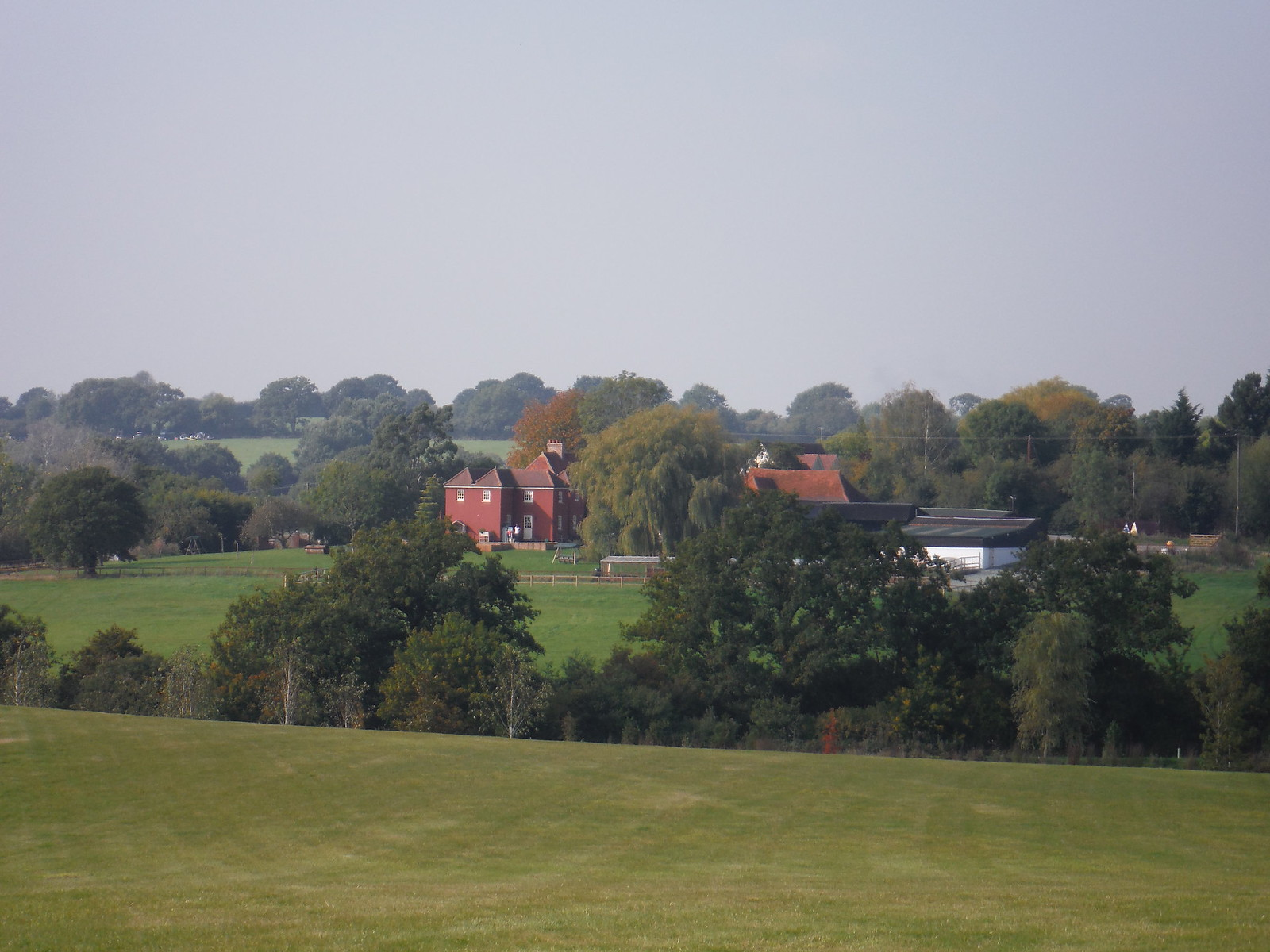 Whites Farm, Buckhatch Lane SWC Walk 159 South Woodham Ferrers to North Fambridge