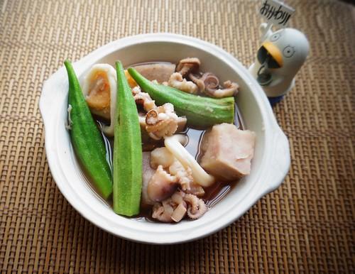 squid taro stew from amaama iinazuma | by Curry puff, lah!