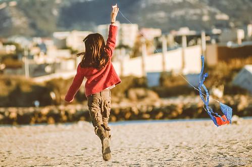 La fille au cerf-volant - FaureYL