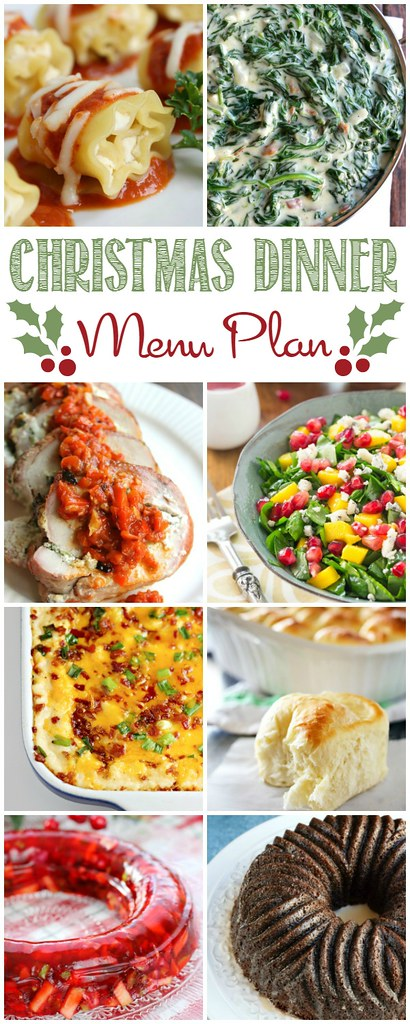 Easy Christmas Dinner Menu.Make Holiday Menu Planning Easy With This Christmas Dinner