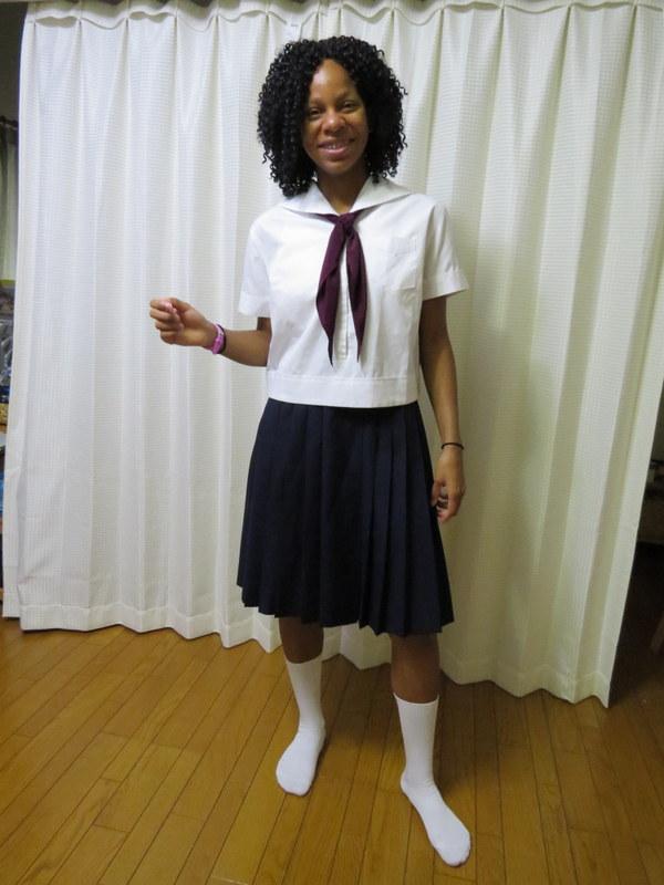 Me in My School Uniform