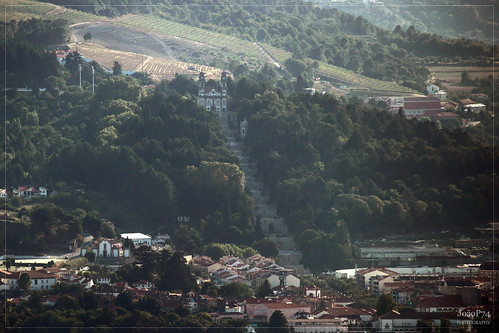 Lamego from the Overlook of São Domingos - Armamar. Douro Valley, 21-08-2015 | by JoãoP74