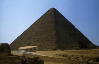 Ägypten 1983 (25) Gizeh: Cheopspyramide
