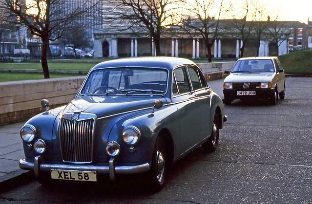 1950s MG Magnette, Birmingham, January 1987