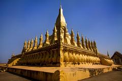 Pha That Luang (Great Stupa) - Vientiane, Laos