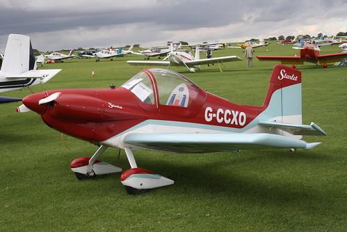 G-CCXO Corby CJ.1 Starlet [PFA 134-13267] Sywell