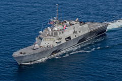 USS Fort Worth's (LCS 3) participation will mark the first by an LCS in CARAT Bangladesh. (U.S. Navy file photo/MC2 Joe Bishop)