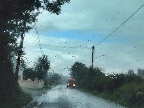 road ireland sky irish rain weather clouds cork telegraphpole windscreen htt telegraphtuesday 2015onephotoeachday
