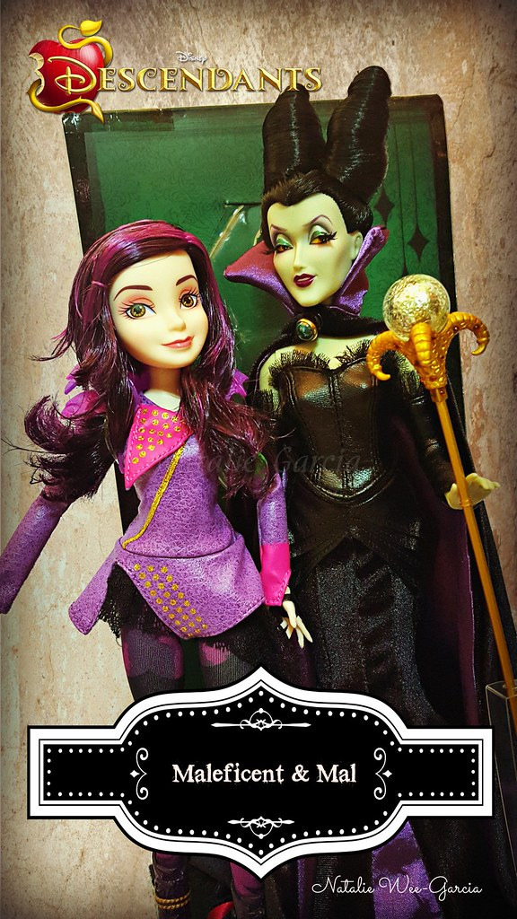 Maleficent And Her Daughter Mal Natalie Garcia Flickr