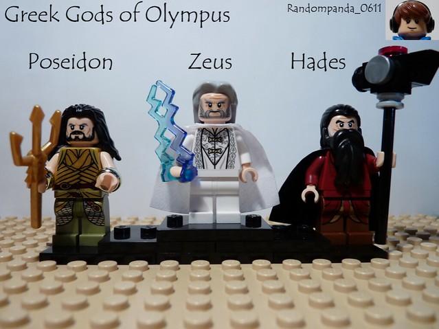 Poseidon, Zeus and Hades