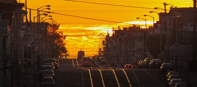 Judah St; The Sunset, San Francisco (2015)