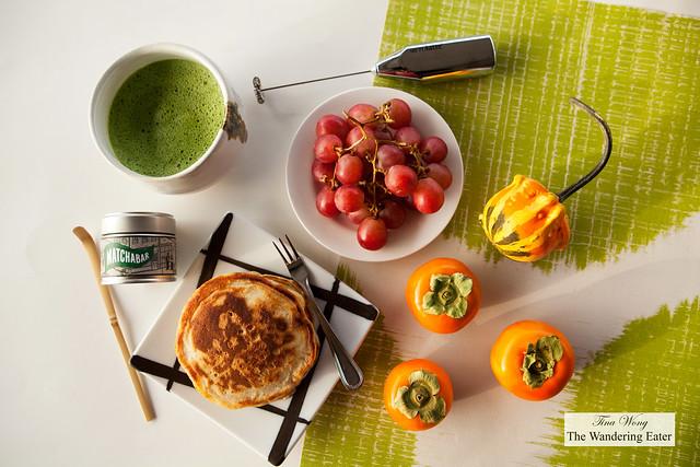 MatchaBar Modern Matcha Tea Set and breakfast