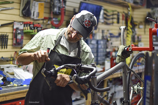 Cartecay Bike Shop - Mike Palmeri | by dondiartphotography @ gmail.com