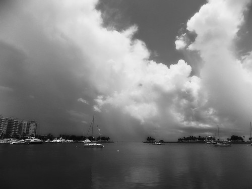 flickr foto photo image capture picture photography nikon bw travel cloud sky light weather storm stormchaser thunderstorm day beach coast water ocean sea seascape landscape pretty beauty beautiful nature outdoor outside florida nikoncoolpixl330 blackandwhite natureporn naturephotography skyporn cloudporn stormclouds northyachtbasin northshoreparkflorida pinellascountyflorida stpetersburgflorida