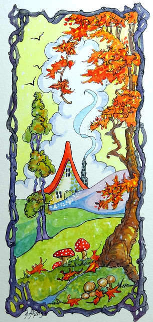 Just Around the Corner from Storybook Cottage Series