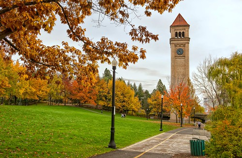 riverfrontpark clocktower riverfrontclocktower autumn fall expo74 spokanefalls spokane washington