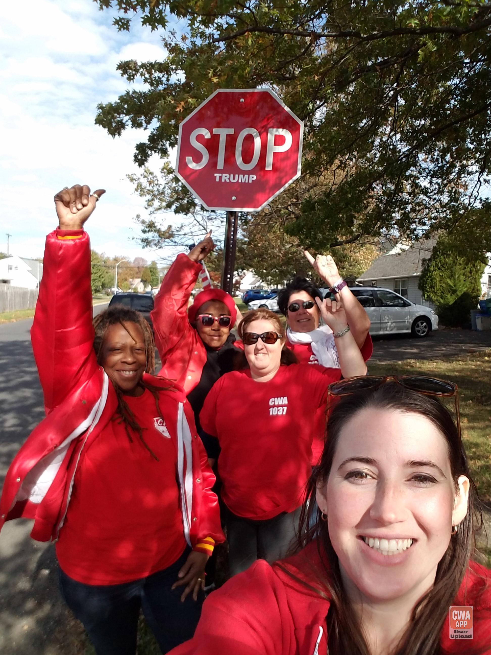 CWA Votes 2016 Labor Walk in Pennsylvania