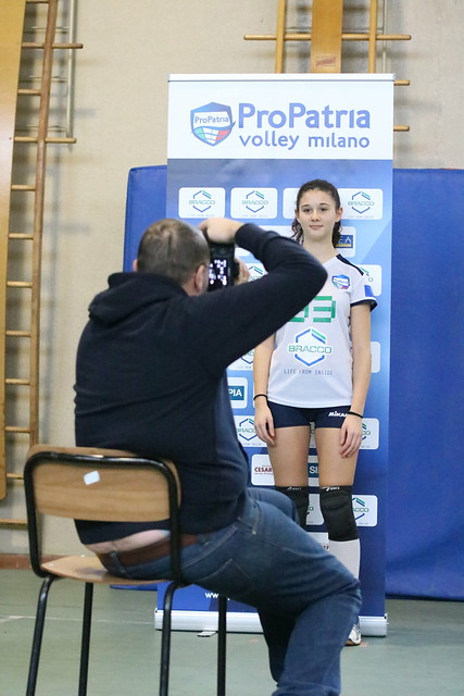 3 Dicembre 2016 Shooting fotografico  - Backstage Pro Patria Volley Milano