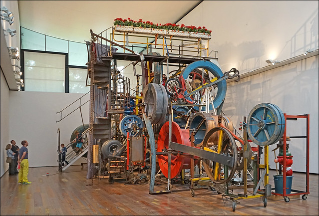 La grande machine-promenade (musée Tinguely, Bâle)