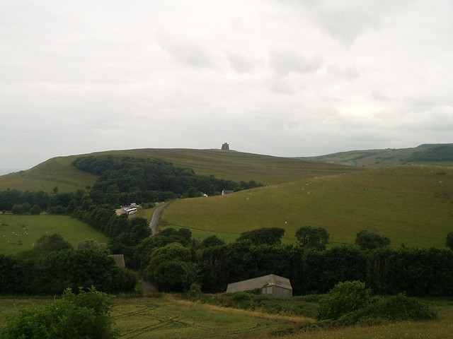 View back to Abbotsbury