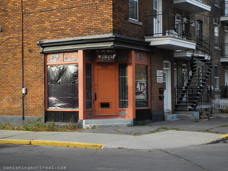Corner store closed